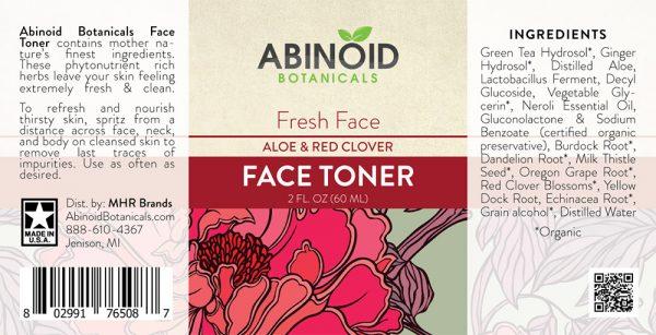 Abinoid Botanicals Face Toner