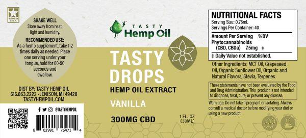 Tasty Drops by Tasty Hemp Oil