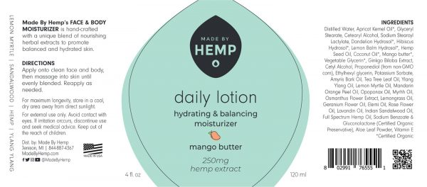 CBD Daily Lotion